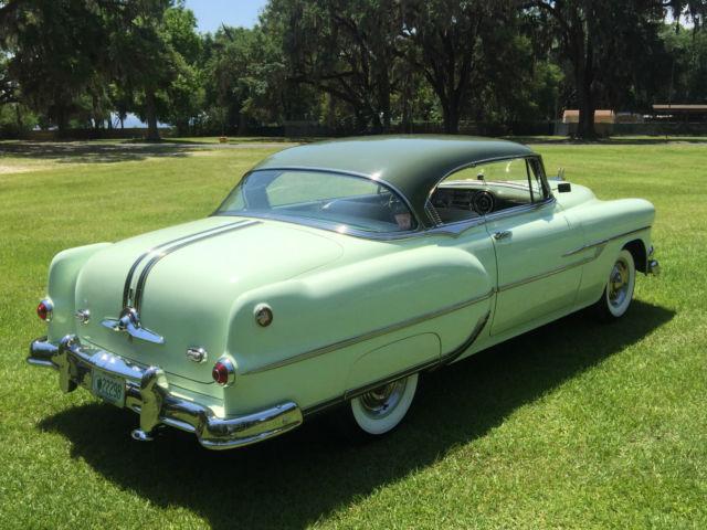 1951 Pontiac Coupe For Sale: Beautiful Restored Original 1953 Pontiac 2 Door Hardtop