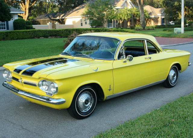 1962 Chevrolet Corvair MONZA CLUB COUPE - 74K MI