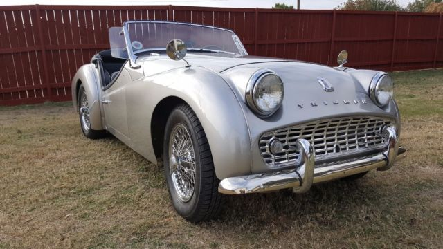Beautifully Frame up Restored 1959 Triumph TR3A with Big