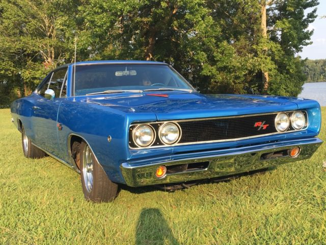 1968 Blue Dodge Coronet RT Coupe
