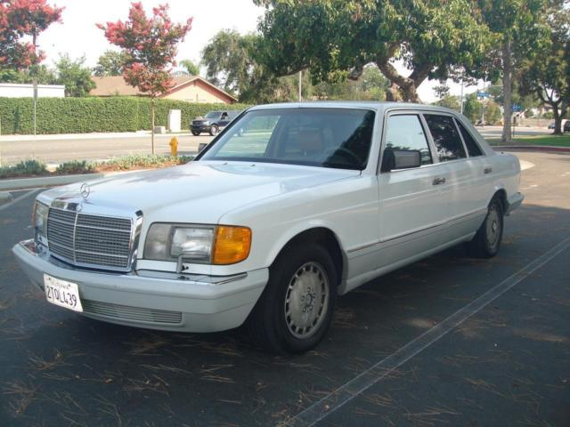 1990 Mercedes-Benz 500-Series 560 SEL, Original cond, CA car, No Reserve !