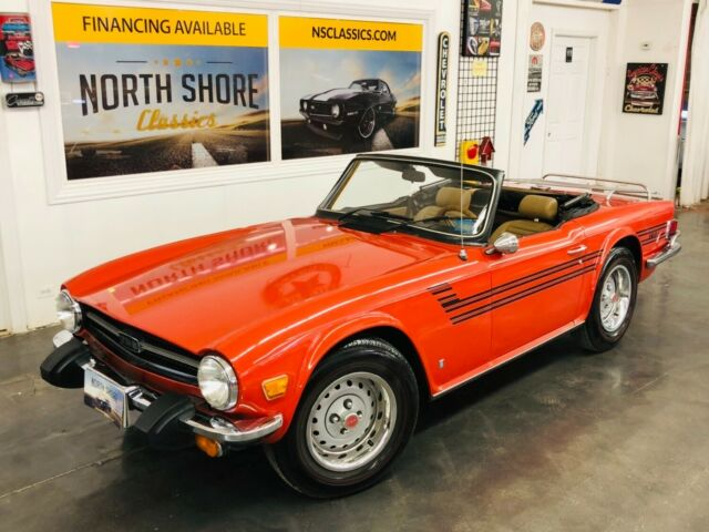 1976 Triumph TR-6 -WELL MAINTAINED ROADSTER-GOOD OVERALL CONDITION-S