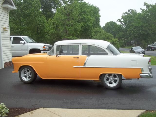 1955 Chevrolet Bel Air/150/210 2 Door SDN