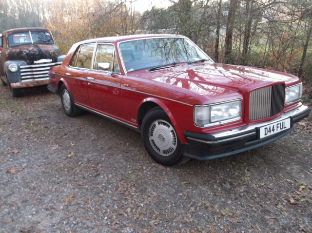 1986 Bentley Mulsanne mulsanne