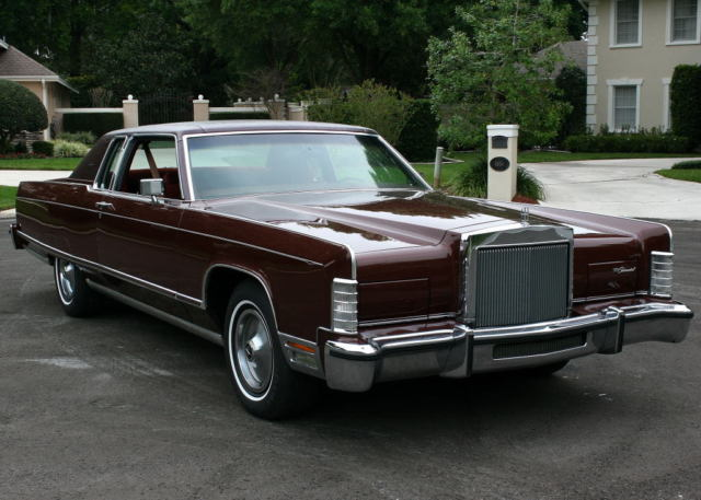 1977 Lincoln Town Car TOWN COUPE - ONE OWNER- 31K MI