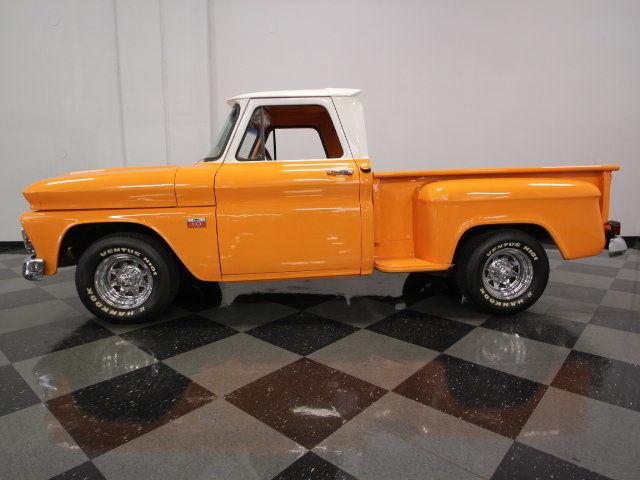 Bright Orange Paint big block 454 power, nice bright orange paint w/ white cab, very