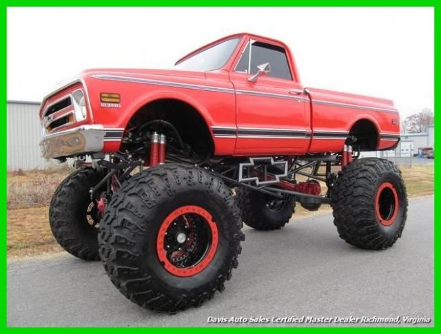 1969 Chevrolet C-10 CK10 Monster Truck Mega 2.5 Ton Rockwell Axles 468