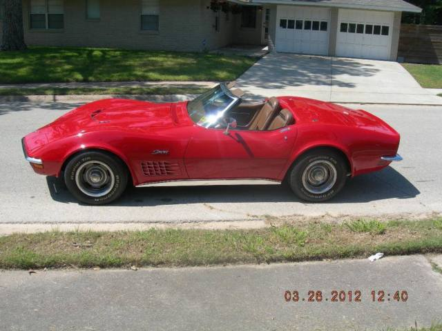 1971 Chevrolet Corvette CONVERTABLE