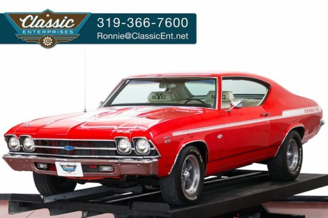 1969 Chevrolet Chevelle Yenko Tribute Bucket Seats and Console Show Ready