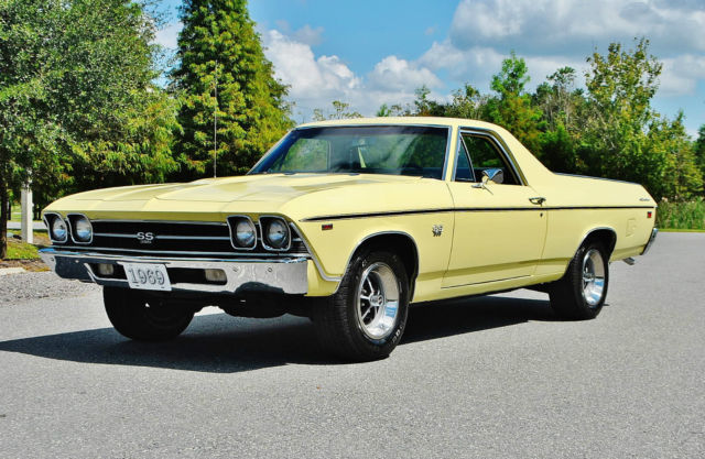 1969 Chevrolet El Camino 1 of the best most rare elcamino 396 ss Wow