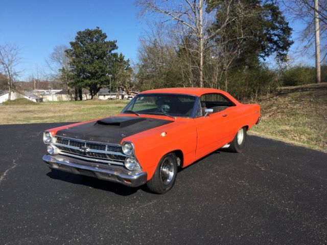 BIG TIRE 1967 PRO STREET FORD FAIRLANE 500   for sale