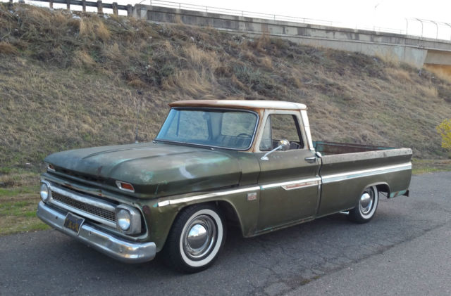 1966 Chevrolet C-10 BIG WINDOW CUSTOM CAB