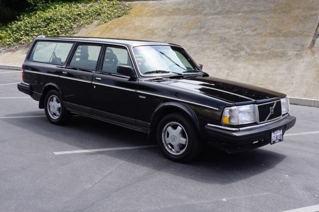 black 1990 volvo 240 wagon for sale photos technical. Black Bedroom Furniture Sets. Home Design Ideas