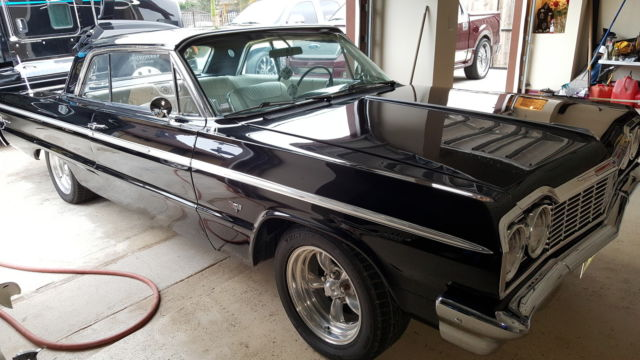 Black 64 Impala Ss White Interior For Sale Photos Technical Specifications Description