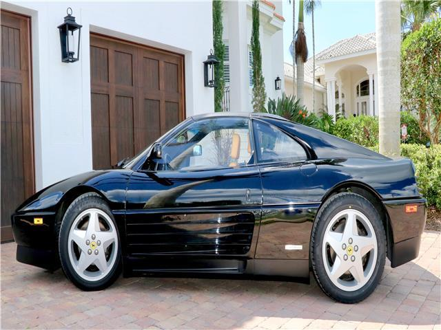 Black Ferrari 348 With 23 478 Miles Available Now For Sale Photos Technical Specifications Description