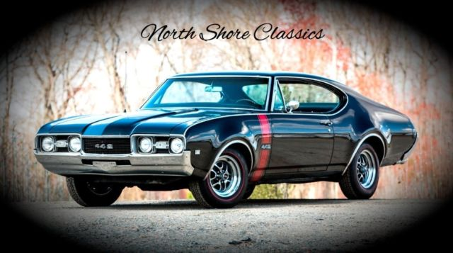 Black Oldsmobile 442 With 5 000 Miles Available Now For Sale