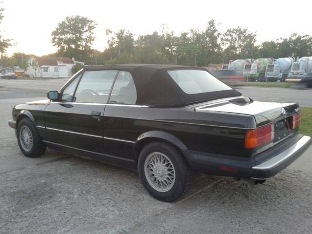 black on black 1987 bmw e30 325i convertible original. Black Bedroom Furniture Sets. Home Design Ideas