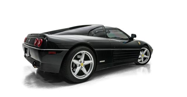 Black Ferrari Convertible