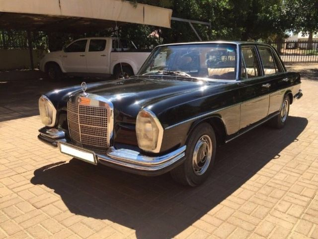 Black w108 mercedes old school for sale photos for Mercedes benz w108 for sale