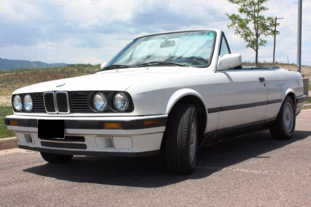 1992 BMW 3-Series 318i Convertible