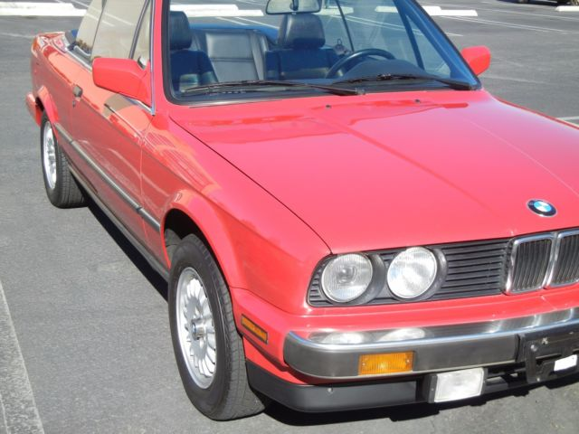 1988 BMW 3-Series 325ic Convertible