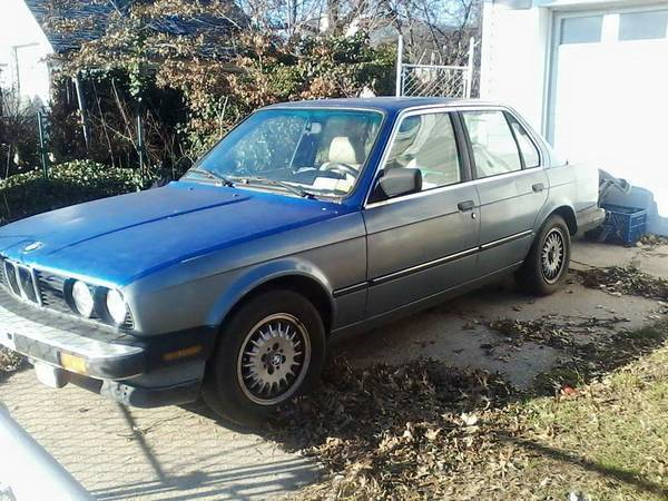 1987 BMW 3-Series 4 DOOR EURO