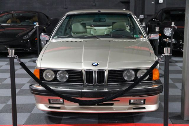 1984 BMW 6-Series Base Coupe 2-Door