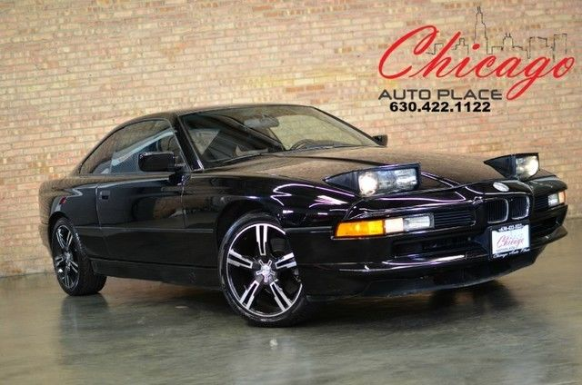 1991 BMW 8-Series 850i - RARE FIND - V12 - 2 SETS OF WHEELS