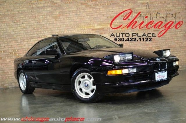 1991 BMW 8-Series 850i - RARE FIND - V12 - LEATHER - FLIP UP LIGHTS