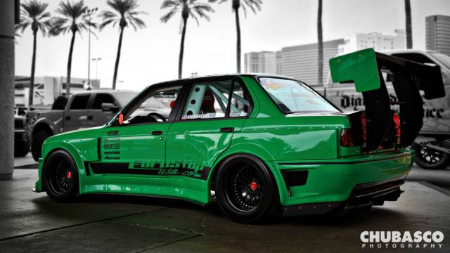 Bmw E30 1987 Turbo 4dr Widebody Racecar Performance Bmw
