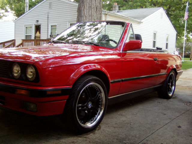 Bmw E30 325i Convertible Custom Wheels Included For Sale