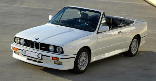 BMW E30 M3 Cabriolet Convertible. Alpinwhite 2. Full Leather 40K ...