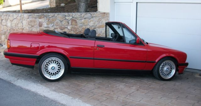 bmw e30 m40 318i cabrio 1992 totally like new for. Black Bedroom Furniture Sets. Home Design Ideas
