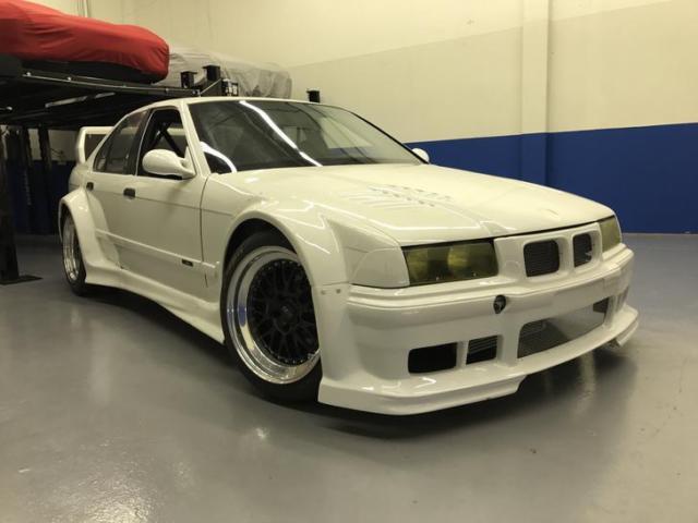 Bmw E36 M3 S54 Ptg Wide Body 4 Door Race Car For Sale Photos