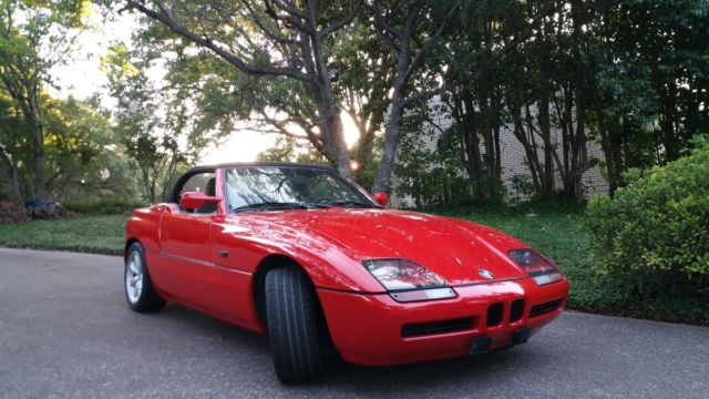 Bmw Z1 Convertible One Of Very Few In The Usa
