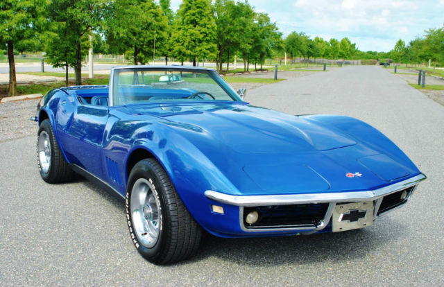 1968 Chevrolet Corvette Convertible 327 4-Speed