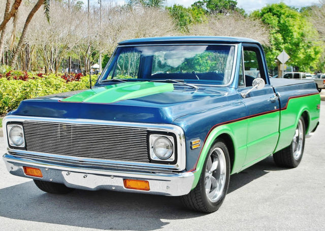 1972 Chevrolet C-10 100% show ready short box best restored NO RESERVE