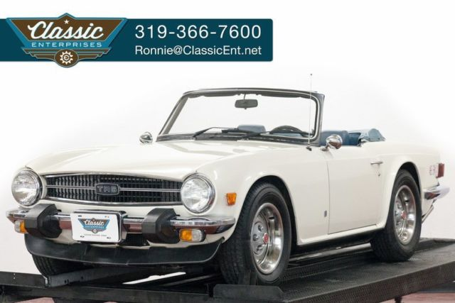 1975 Triumph Other convertible 4 speed classic sports car drive home