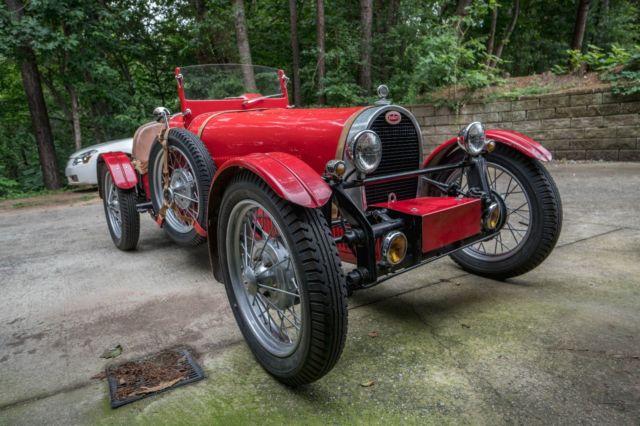 bugatti type 35 37 replica kit car for sale: photos, technical