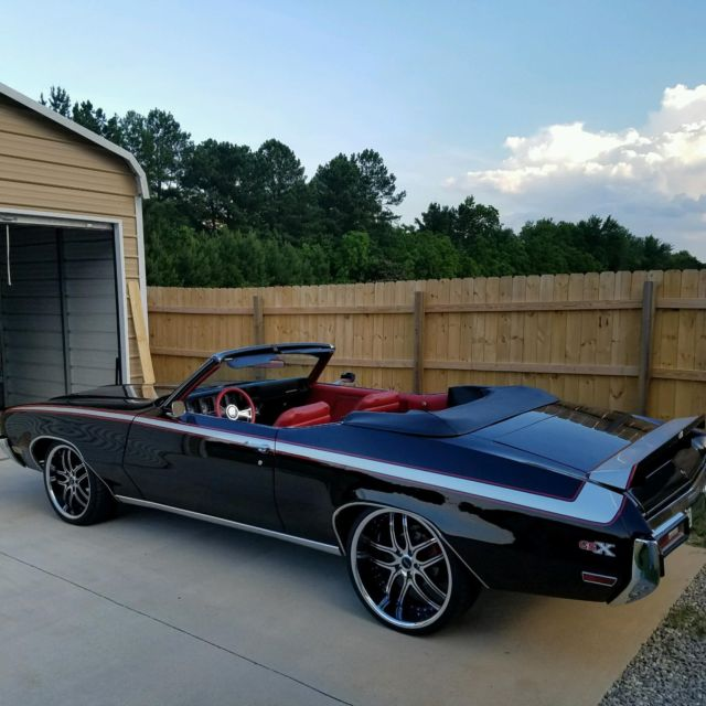Buick Skylark Gs For Sale: Buick Gsx Clone- Black, Red, Silver For Sale: Photos