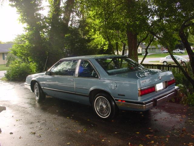 Buick Lesabre Coupe Limited Door Lite Blue on 1989 Buick Lesabre Blue