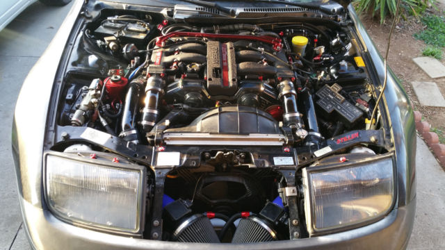Built Nissan Zx Twin Turbo Hp Tq Z Vg Dett Low Mileage on Nissan Air Intake Diagram