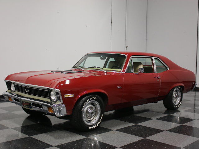 1972 Chevrolet Nova SS Tribute