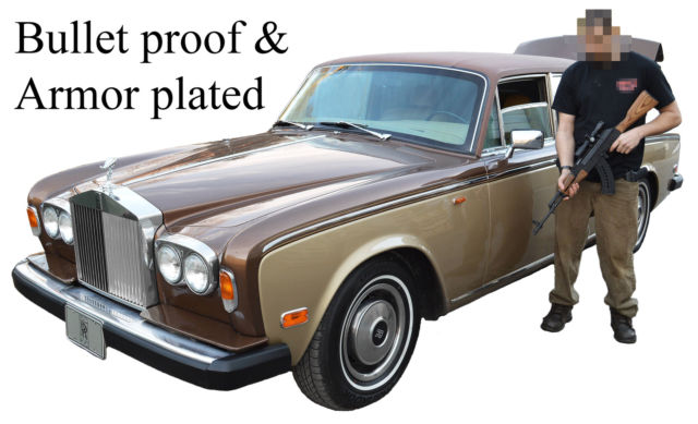 1979 Rolls-Royce Silver Shadow - Wraith II : Armor plated & bullet proof
