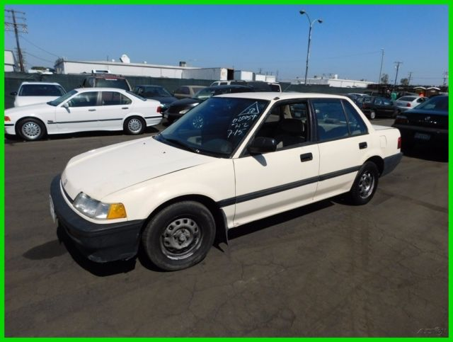1989 Honda Civic DX