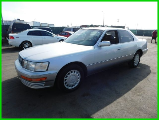 1991 Lexus LS Base Sedan 4-Door