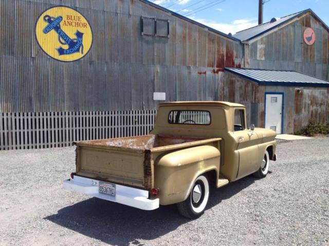 1961 Chevrolet C-10 Short bed