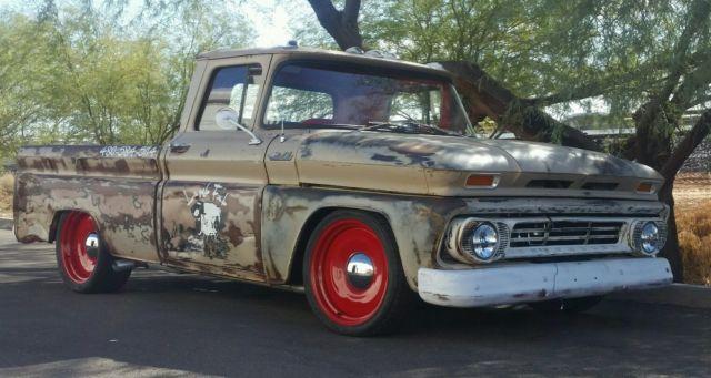 C10 Rat Rod Shop Truck 1962 Chevrolet Chevy For Sale Photos