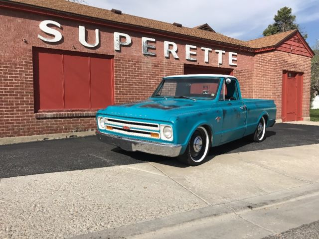 C10 SHOP TRUCK PATINA LOWERED NOT BAGGED AIR RIDE 3100