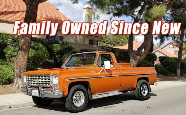 1976 Chevrolet C-10 C-20 REBUILT 350 ORIGINAL PAINT